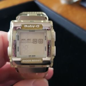 Casio Baby G square face watch